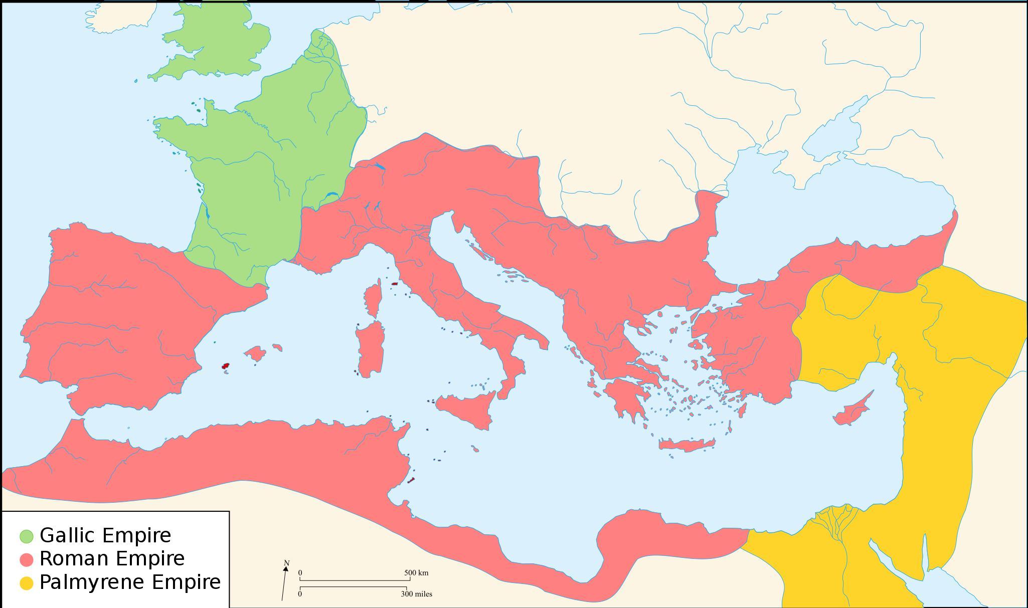 Mapa Mapa Starovekeho Rima